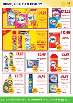 Bold offers in the Bestway catalogue in London