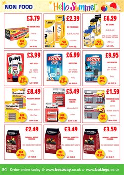 Bestway offers in the Leeds catalogue