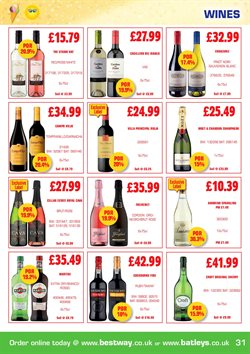 Cava offers in the Bestway catalogue in London