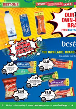 Sweet offers in the Bestway catalogue in London