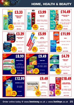 Shower offers in the Bestway catalogue in London