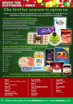 Christmas offers in the Bestway catalogue in Hackney