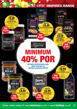 Cheese offers in the Bestway catalogue in London