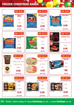 Potatoes offers in the Bestway catalogue in London