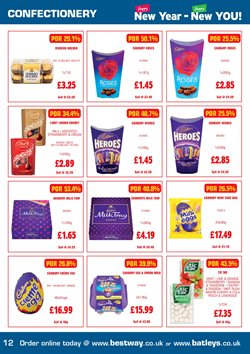 Eggs offers in the Bestway catalogue in London
