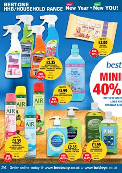 Baby offers in the Bestway catalogue in London