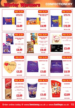 Bags offers in the Bestway catalogue in Sutton Coldfield