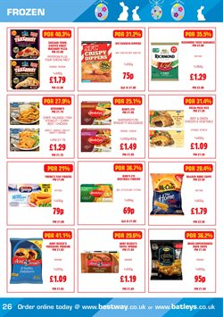 Pizza offers in the Bestway catalogue in Barking-Dagenham