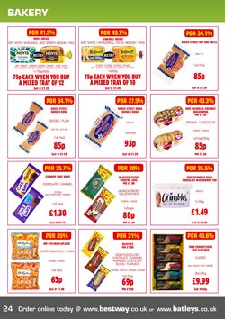 Shoes offers in the Bestway catalogue in Widnes