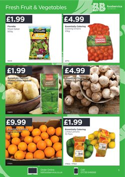 Oranges offers in the Bestway catalogue in Tower Hamlets