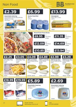 Pizza offers in the Bestway catalogue in Warrington