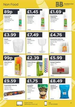 Paper offers in the Bestway catalogue in London