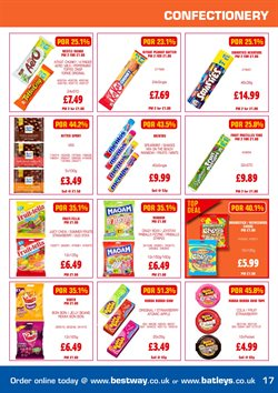 Milk offers in the Bestway catalogue in Tower Hamlets