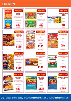 Pizza offers in the Bestway catalogue in Birkenhead