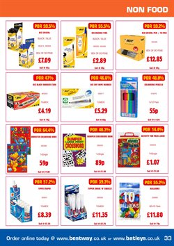 Pens offers in the Bestway catalogue in Stoke-on-Trent