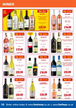 Wine offers in the Bestway catalogue in London