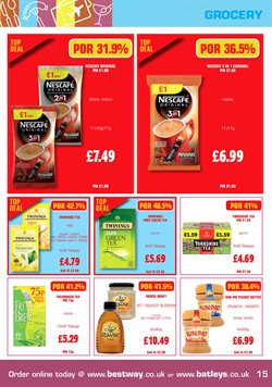 Tea offers in the Bestway catalogue in London