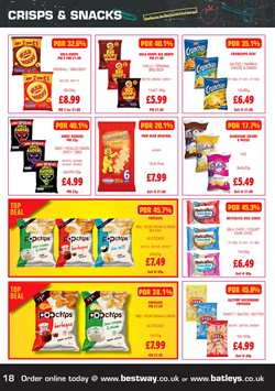 Pancakes offers in the Bestway catalogue in London
