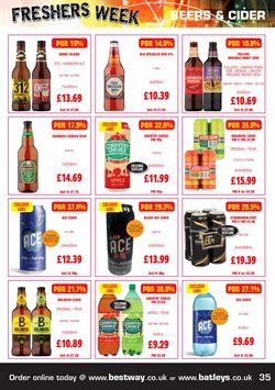 Ace offers in the Bestway catalogue in Tower Hamlets
