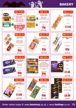Cake offers in the Bestway catalogue in London