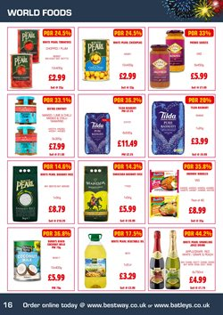 Juice offers in the Bestway catalogue in London