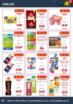 Pizza offers in the Bestway catalogue in Bolton