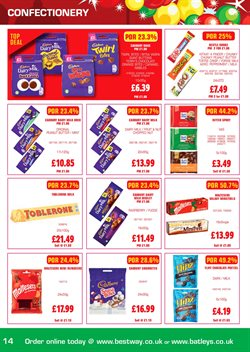 Peanut butter offers in the Bestway catalogue in London