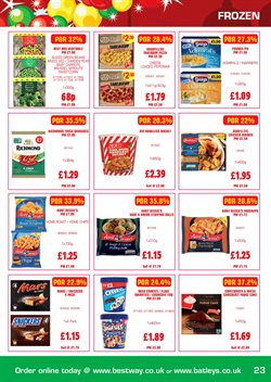 Pizza offers in the Bestway catalogue in Runcorn