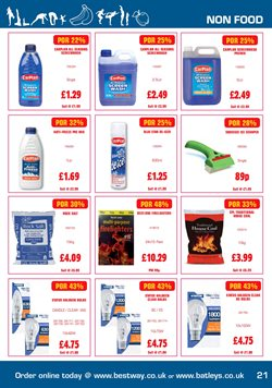 Brushes offers in the Bestway catalogue in London