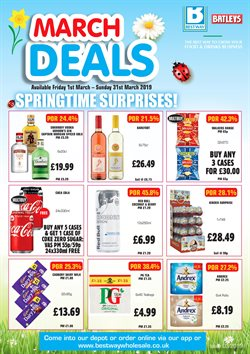 Vodka offers in the Bestway catalogue in London