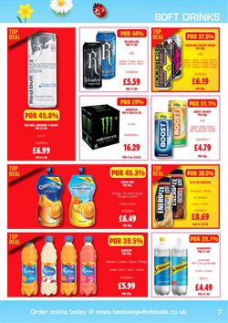 Schweppes offers in the Bestway catalogue in London