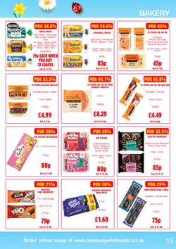 Cake offers in the Bestway catalogue in Tower Hamlets