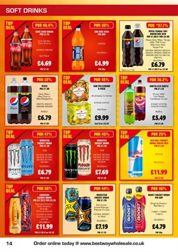Offers of Red Bull in Bestway