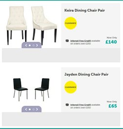 Chairs offers in the Harveys Furniture catalogue in Basingstoke