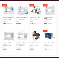 Table offers in the Hobbycraft catalogue in Runcorn