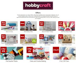 Home & Furniture offers in the Hobbycraft catalogue in Newport ( Expires today )