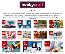 Hobbycraft catalogue in Liverpool ( Published today  )