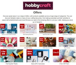 Hobbycraft catalogue ( Expires tomorrow)