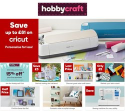 Home & Furniture offers in the Hobbycraft catalogue ( 3 days left)
