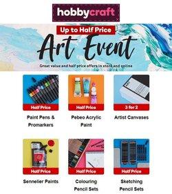 Hobbycraft catalogue ( Published today)