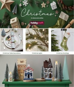 Hobbycraft offers in the Hobbycraft catalogue ( 13 days left)