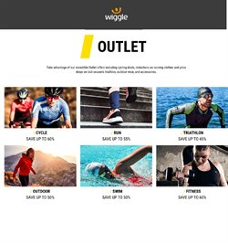 Sport offers in the Wiggle catalogue in Swansea ( 3 days left )