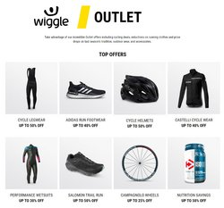 Sport offers in the Wiggle catalogue in Cannock ( 5 days left )