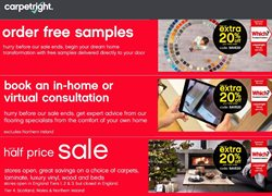 Home & Furniture offers in the Carpetright catalogue in Edinburgh ( 8 days left )