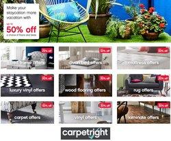 Carpetright offers in the Carpetright catalogue ( Expires tomorrow)