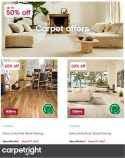 Carpetright offers in the Carpetright catalogue ( 23 days left)