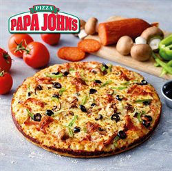 Papa John's offers in the London catalogue
