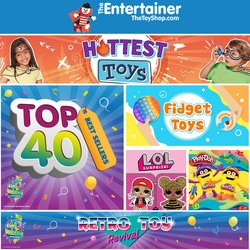 Toys & Babies offers in the The Entertainer catalogue ( 7 days left)