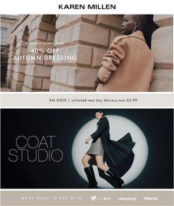 Luxury brands offers in the Karen Millen catalogue ( 14 days left)