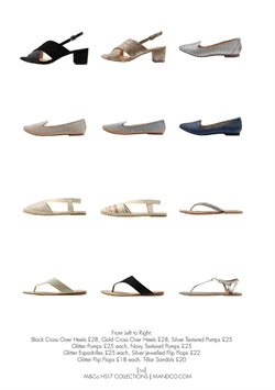 Espadrilles offers in the M&Co catalogue in London